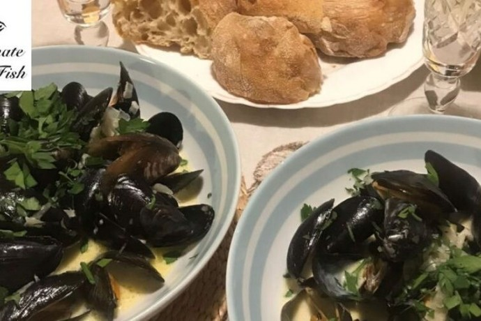mussels in Garlic and white wine